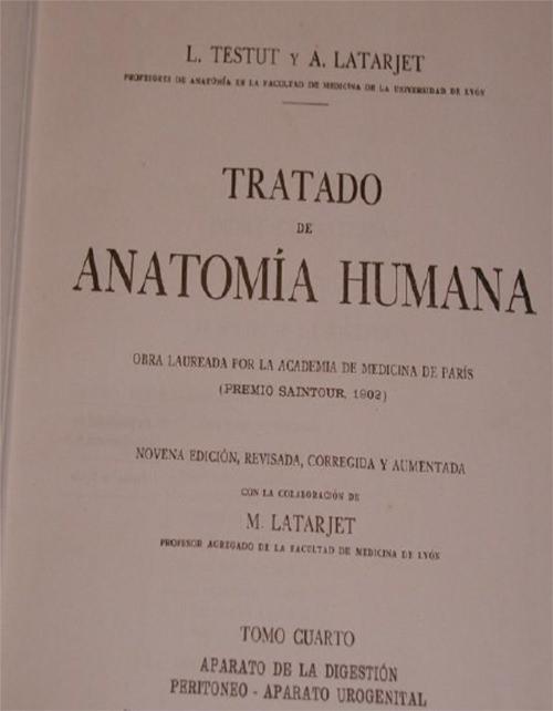 La anatomía de Testut y Latarjet